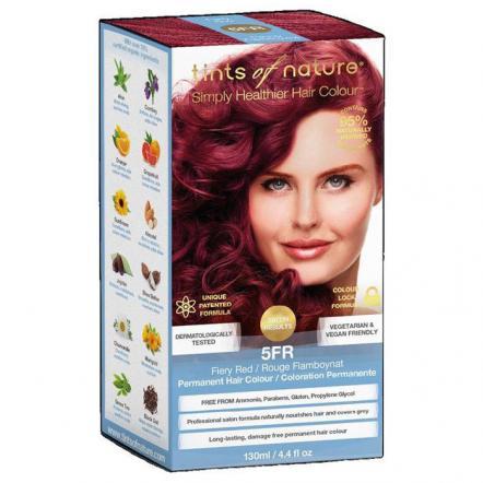 Стойкая гель краска для волос тон 5FR , Tints of Nature