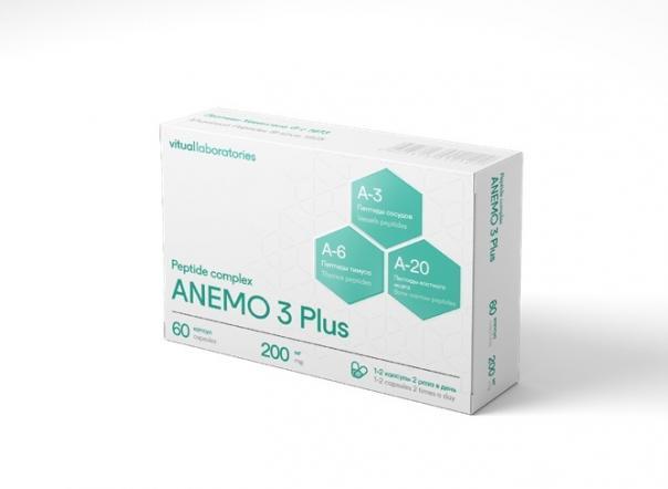 Комплекс пептидов ANEMO 3 Plus. Vitual