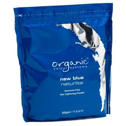 Обесцвечивающая голубая пудра New Blue Naturlite для волос, Organic Colour Systems