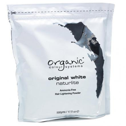 Обесцвечивающая белая пудра Original White Naturlite для волос, Organic Colour Systems