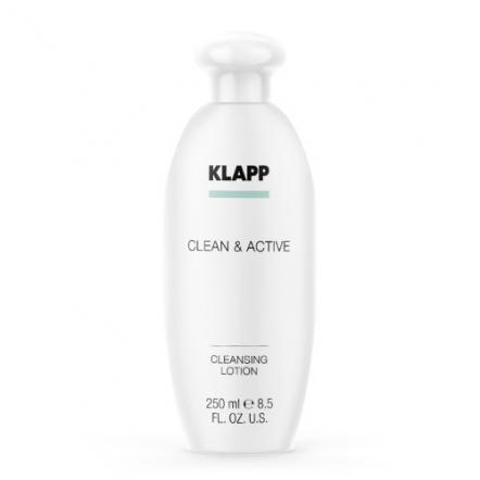Очищающее молочко CLEAN&ACTIVE, KLAPP