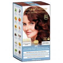 Стойкая гель краска для волос тон 6R, Tints of Nature
