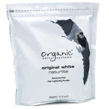 Обесцвечивающая белая пудра Original White Naturlite для волос, Organic Colour Systems